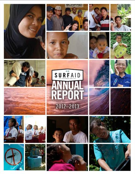SurfAid Annual Report 2012-13