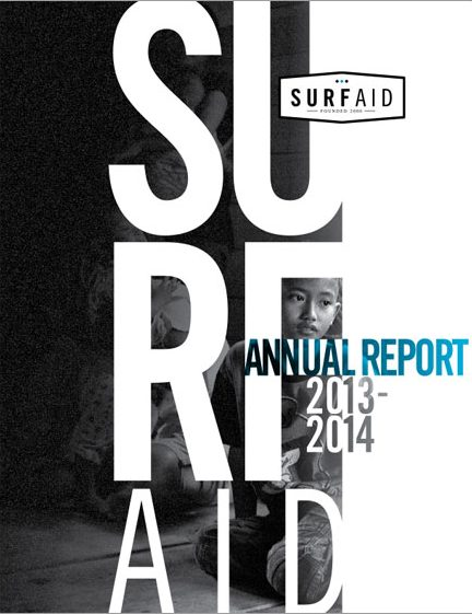 SurfAid Annual Report 2013-14