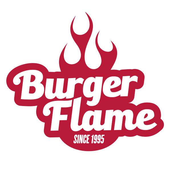 Pork Pie Burger Flame