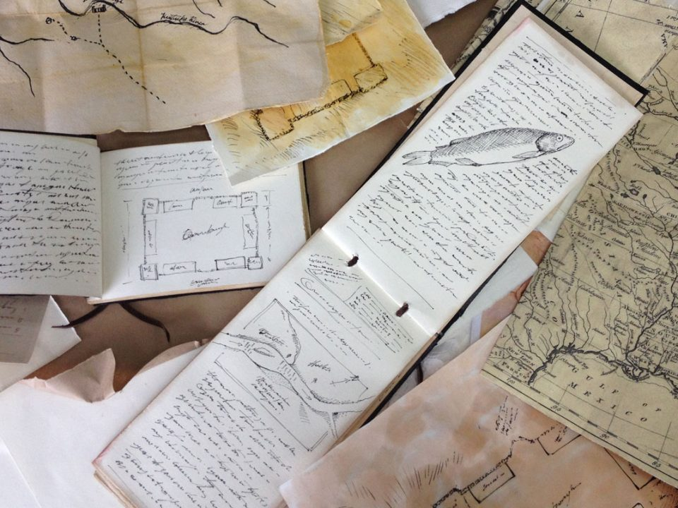 Frontiersmen Maps and Journals